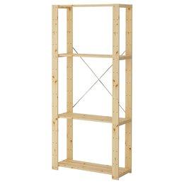 Стеллажи и этажерки - Стеллажи полочные, модульные, 0