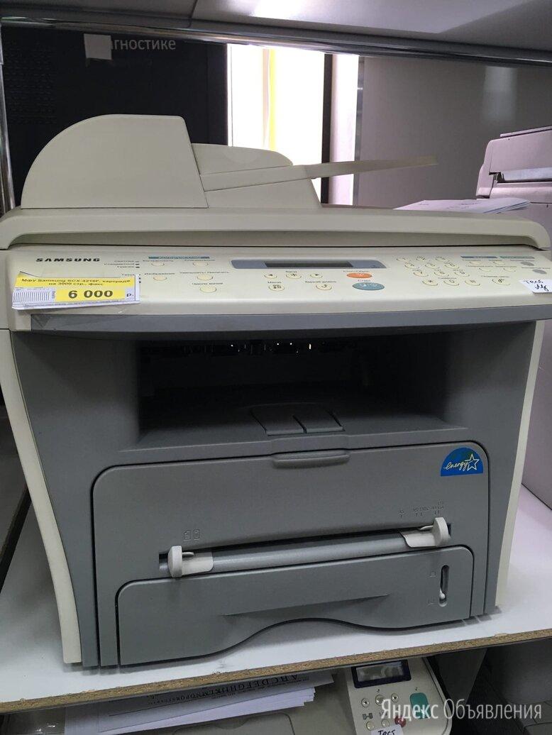МФУ Samsung SCX - 4216F по цене 6000₽ - Принтеры, сканеры и МФУ, фото 0