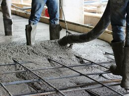 Строительные смеси и сыпучие материалы - Бетон м350 для фундамента , 0