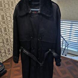 Пальто - Пальто мужское, кожаное, 0