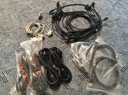 Компьютерные кабели, разъемы, переходники - Hdmi,COM,USB 3.0,AUX,Вэб камеры, наушники, 0