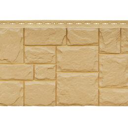 Изоляционные материалы - Фасадная панель Grand Line Крупный камень стандарт песочная, 0
