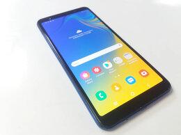 Мобильные телефоны - Смартфон Samsung A7 2018 года (64гига), 0