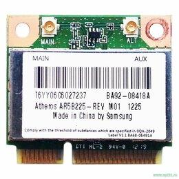 Оборудование Wi-Fi и Bluetooth - Модуль Wi-Fi + BT (AR5B225) Samsung NP305V5C,…, 0