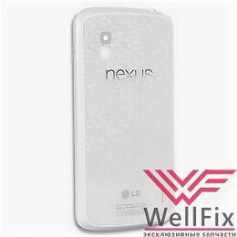 Корпусные детали - Задняя крышка для LG Nexus 4 E960 белая, 0