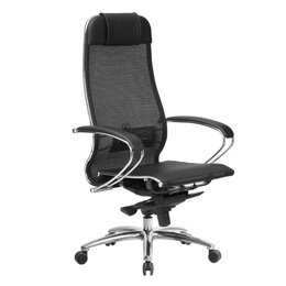 Компьютерные кресла - Компьютерное кресло Samurai S-1.04 (Чёрный Плюс), 0