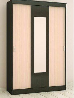 Шкафы, стенки, гарнитуры - Шкаф купе Бася венге/дуб, 0