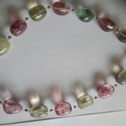 Колье и бусы - бусы из натуральных цветных камней, 0