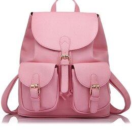 Сумки - Женский розовый рюкзак, 0