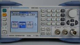 Лабораторное оборудование - Генератор сигналов R&S SMC100A c опцией SMC-B101, 0