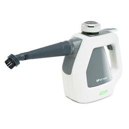 Пароочистители - Пароочиститель Kitfort KT-918-2 серый, 0