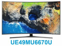 "Телевизоры - 49"" 4K LED Smart TV Samsung UE49MU6670U Curved, 0"