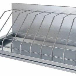 Дизайн, изготовление и реставрация товаров - Полка кухонная для досок ПКД-С-600.350-9-02-В, 600х350х290 мм, Атеси, 0