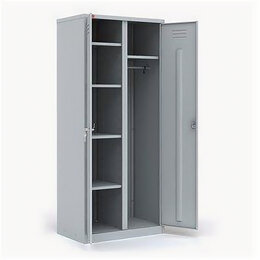 Мебель для учреждений - Шкаф двухсекционный для одежды ШРМ-22/800 У (1860х800х500мм), 0