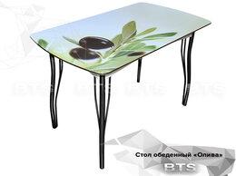 """Столы и столики - Стол обеденный с принтом """"Олива"""", 0"""