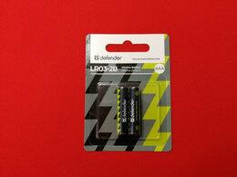Батарейки - Батарейка алкалиновая Defender LR03-2B AAA 2 шт…, 0