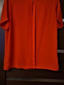 Блузки и кофточки - Блуза с коротким рукавом ярко-красного цвета, 0