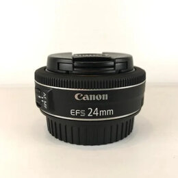 Объективы - Canon EF-S 24mm 2.8 STM (A305), 0
