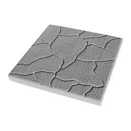 Тротуарная плитка, бордюр - Тротуарная плитка 300*300*30 тучка серая, 0