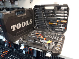 Наборы инструментов и оснастки - Набор инструмента SATATools 121 предмет для авто…, 0