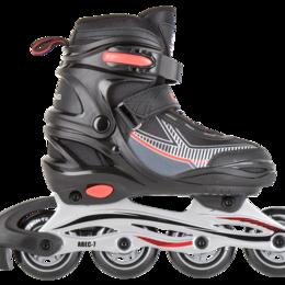 Обувь для спорта - Ролики детские раздвижные Tech Team Kolt р.30-33 (S) красный, 0
