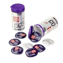 Презервативы - Тонкие презервативы Elasun 20шт (0,03мм), 0