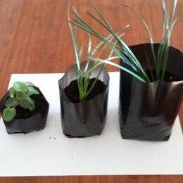 Садовые фигуры и цветочницы - Мешок для рассады с фальцем 100*250 2 л 10 шт, 0