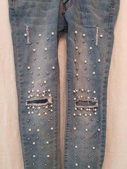 Джинсы - Джинсы брюки, 0