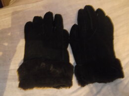 Перчатки и варежки - перчатки на натуральном меху, 0