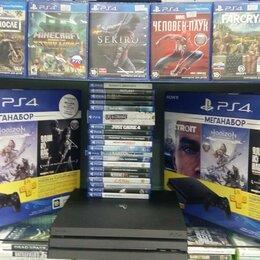 Игровые приставки - Playstation 4 Slim+игры В ПАРКЕ ИГР, 0