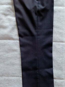 Брюки - Школьные брюки синие п/ш 158-76-69, 0