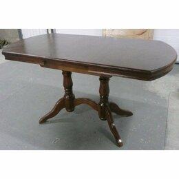 Мебель для кухни - Стол Прямоугольный закругленный на двух опорах…, 0