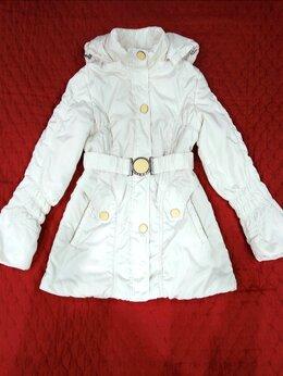Куртки - Белоснежная куртка с капюшоном, 0