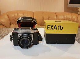 Пленочные фотоаппараты - Фотоаппарат Pentacon Exa 1b Германия 1980г выпуска, 0