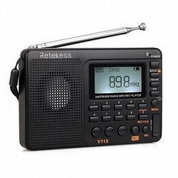 Радиотюнеры - Карманный приемник / mp3-плеер / диктофон (New), 0