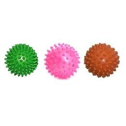 Фитболы и медболы - Мяч ПВХ массажный 7см, 25 гр, 0