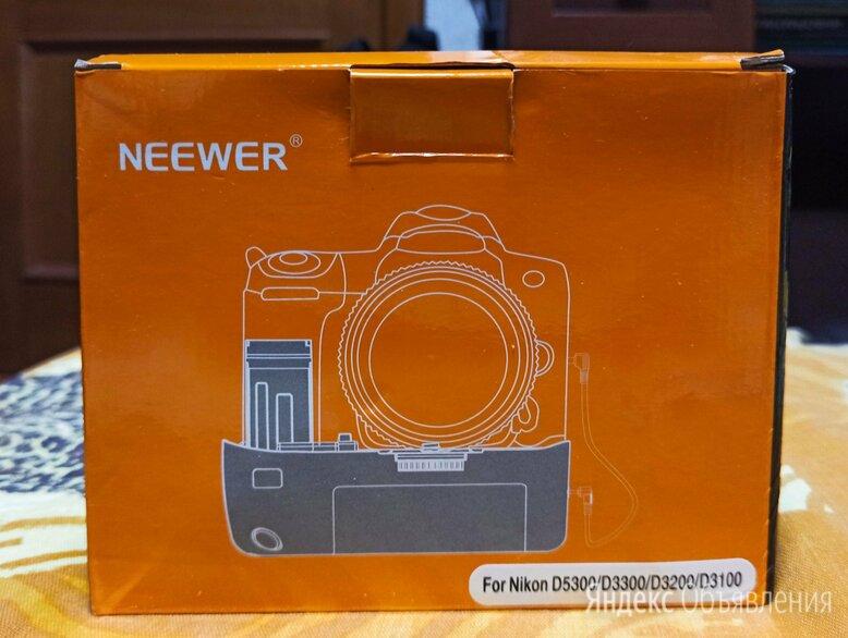Батарейный блок Neewer, для Nikon по цене 1500₽ - Аккумуляторы и зарядные устройства, фото 0