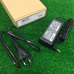 Аксессуары и запчасти для ноутбуков - Блок питания ноутбука Acer 5.5x1.7 19V 3.42A, 0