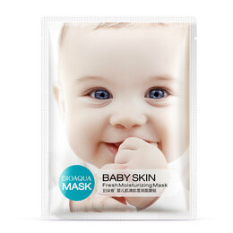 Антивозрастная косметика - Подтягивающая тканевая маска для лица Baby Skin…, 0