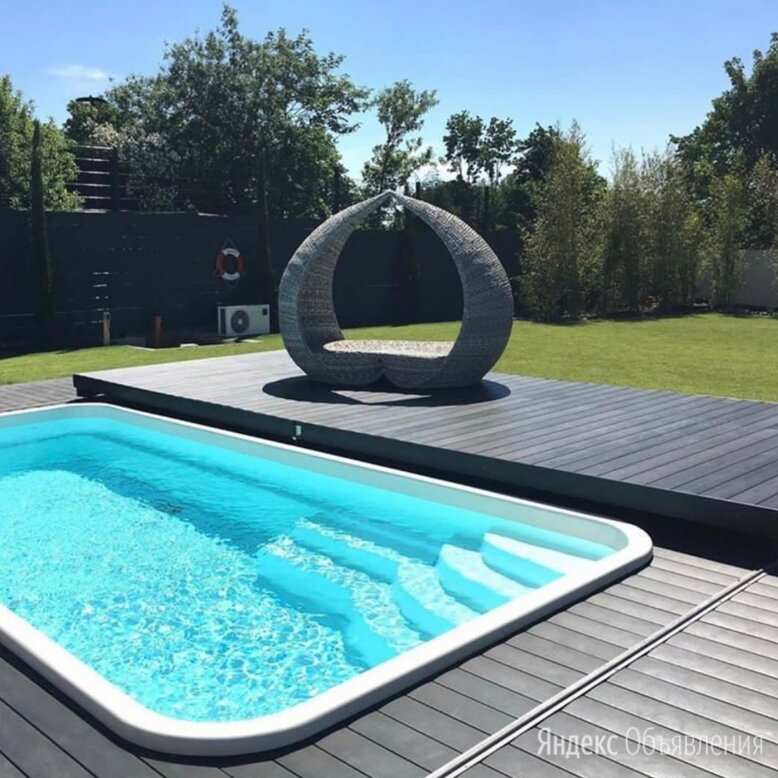 Сдвижная терраса для бассейна по цене 365000₽ - Павильоны для бассейнов, фото 0