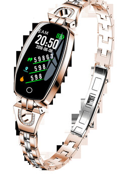 Умные часы и браслеты - Смарт часы женские Lemfo h8, 0
