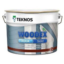 Антисептики - Антисептик Teknos Woodex Aqua Solid кроющий РМ1 9л, 0