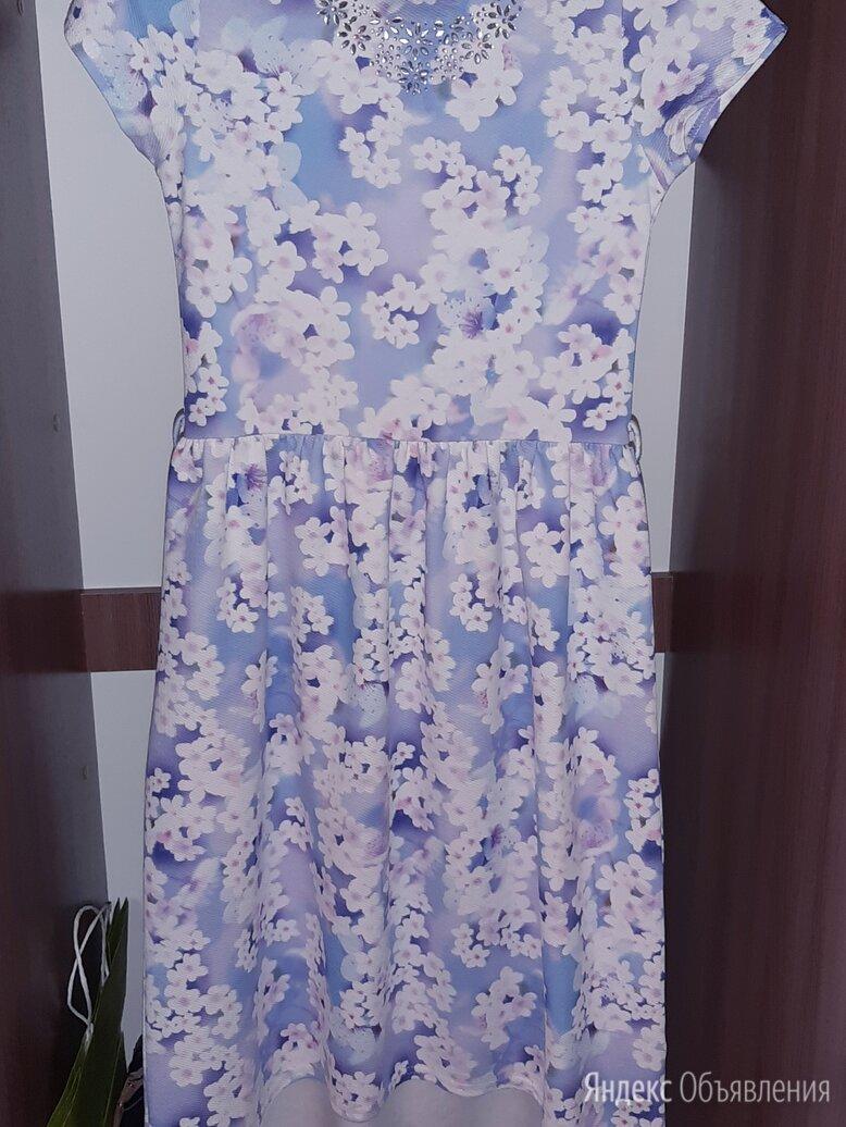 Новое Летнее Платье с Цветочным Принтом (40 xxs) по цене 300₽ - Платья, фото 0