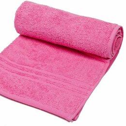 Постельное белье - Простыня махровая (180х220) плотность 380 гр.  Ярко-розовый, 0