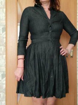 """Платья - Платье джинсовое """"Lauren"""" - 48 размер, 0"""