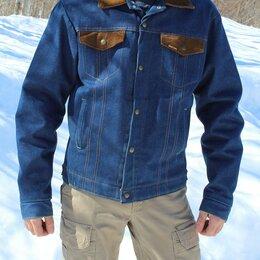 Куртки - Куртка джинсовая на меху Saddle King, Made in USA, 0