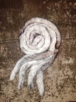 Шубы - Шуба норковая(пояс от норковой шубы) белая норка…, 0