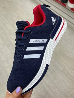 Кроссовки и кеды - Кроссовки adidas zx 500 синие, 0