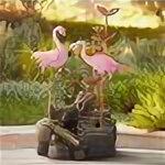 Декоративные фонтаны - Уличный фонтан Фламинго GREEN APPLE GA-04674 высота 72см 7116 (КОД:685832), 0