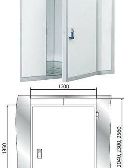 Дверные коробки - Дверной блок с распашной дверью 2040*1200*80…, 0